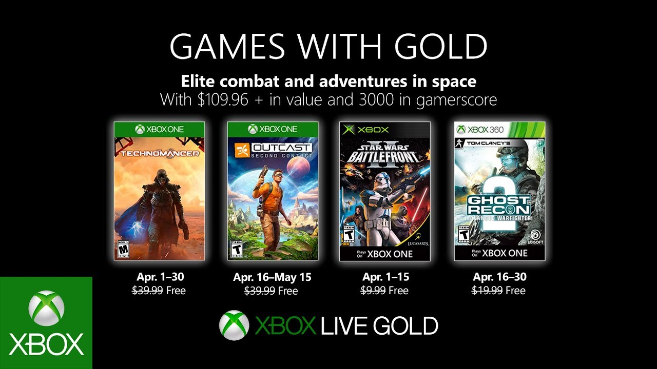April 2019 Games with Gold – Z3Gaming